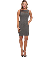 Calvin Klein - Metallic Dress w/ Tucking