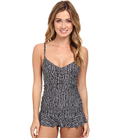 La Blanca - Savanna Nights Drape Front Swimdress
