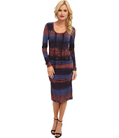 Nicole Miller - Tie-Dye Crepe Dress
