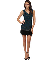 Nicole Miller - Feather Beaded Dress