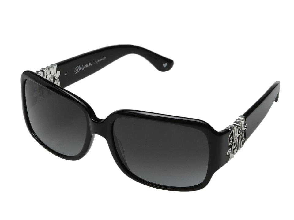 Brighton - Concerto (Black/Silver) Fashion Sunglasses