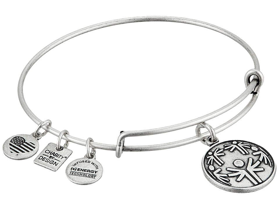 Alex and Ani - Charity By Design - Power of Unity Bracelet (Rafaelian Silver) Bracelet