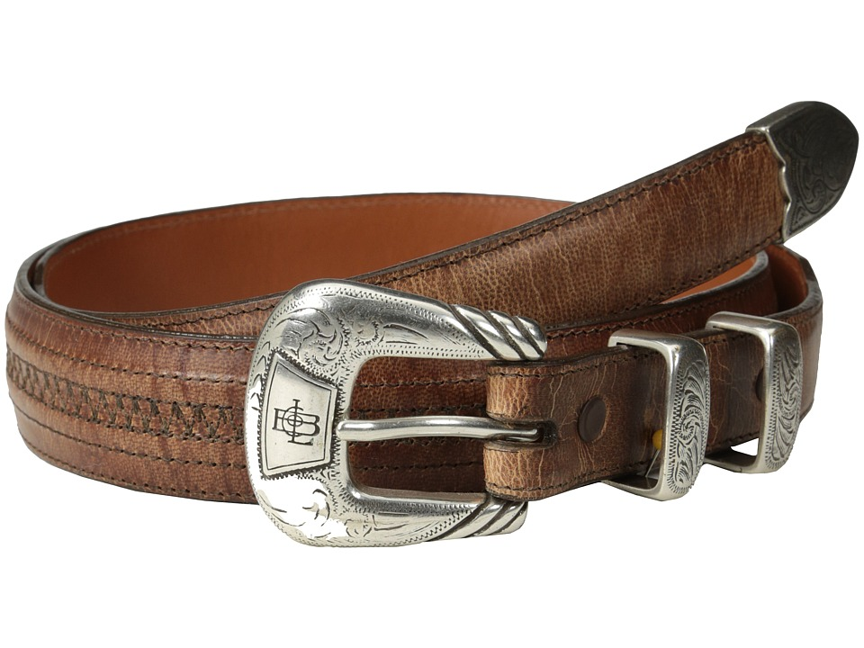 Lucchese - W2242H (Tan Mad Dog Goat) Mens Belts
