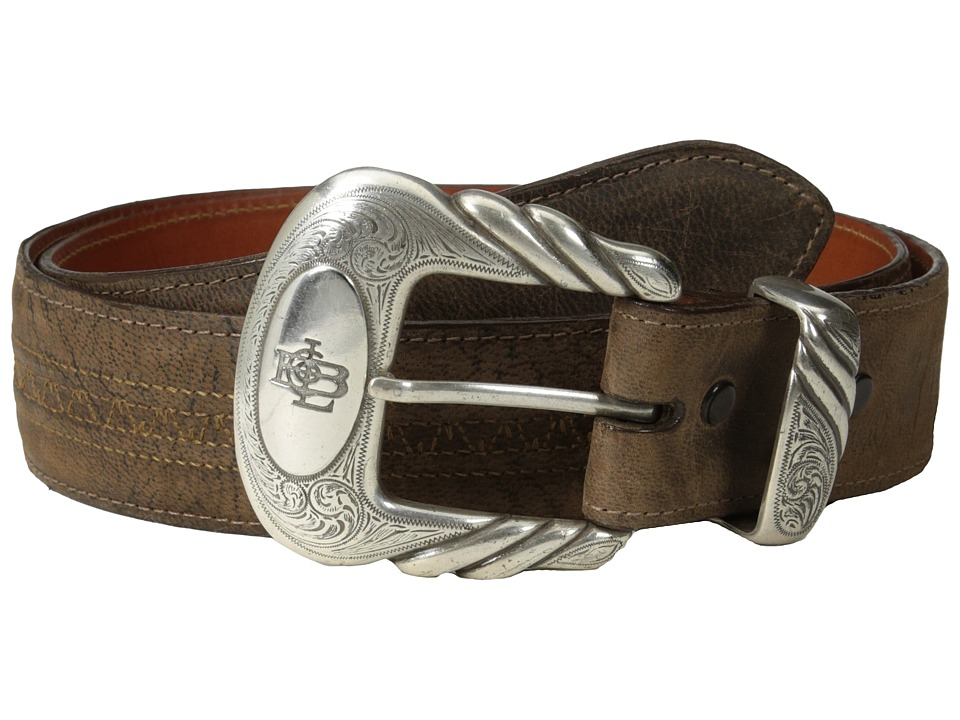 Lucchese - W2251H (Chocolate Mad Dog Goat) Mens Belts