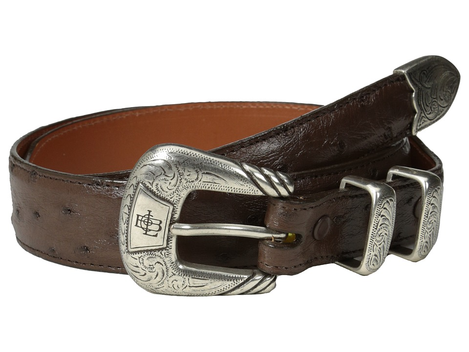 Lucchese - W6052 (Sienna Full Quil Ostrich) Mens Belts