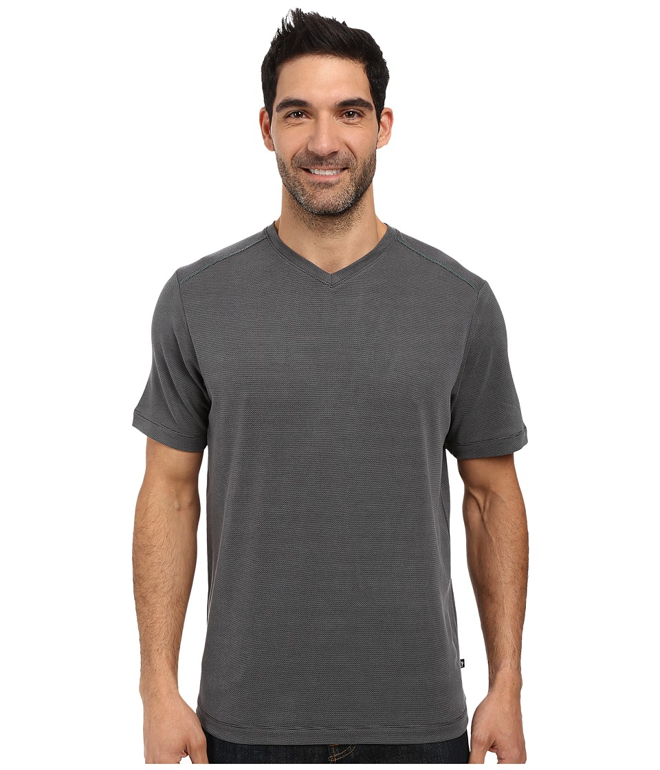 Tommy Bahama New Pebble Shore V-Neck (Black) Men