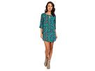 rsvp - Cherise Print Dress (Green)