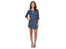 rsvp - Cherise Print Dress (Blue)