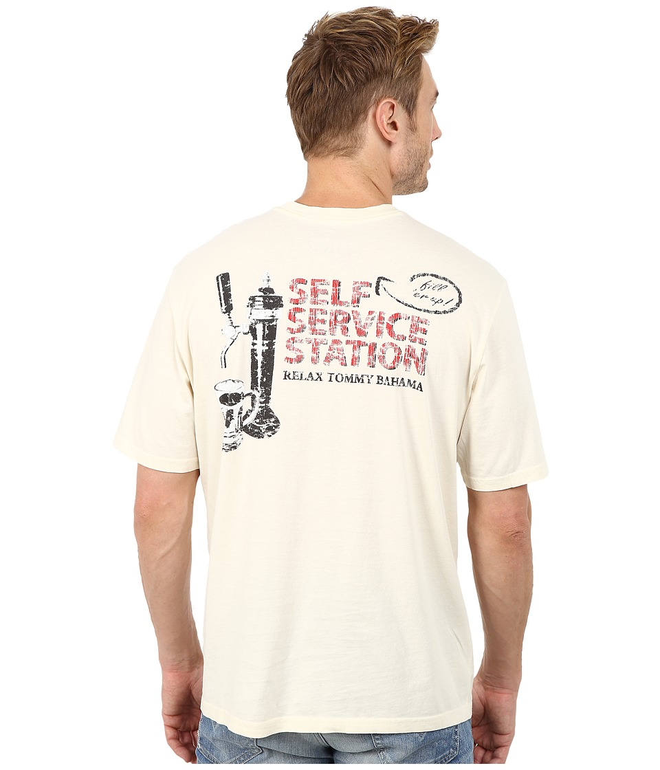 Tommy Bahama - Self Service Station Tee (Bleached Sand) Men