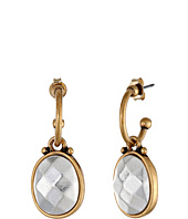 Lucky Brand - Two-Tone Metal Drop Earring