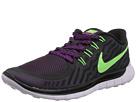 Nike Free 5.0 (Black/Fuchsia Flash/Light Retro/Flash Lime)