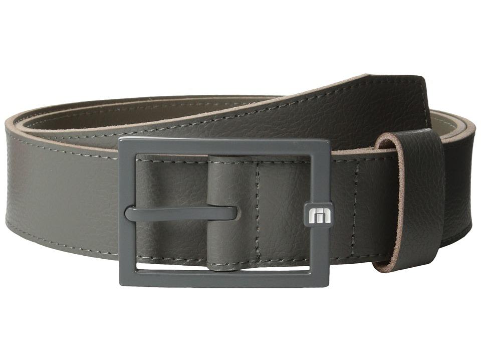 TravisMathew Bruno 2 Belt Grey 1 Mens Belts