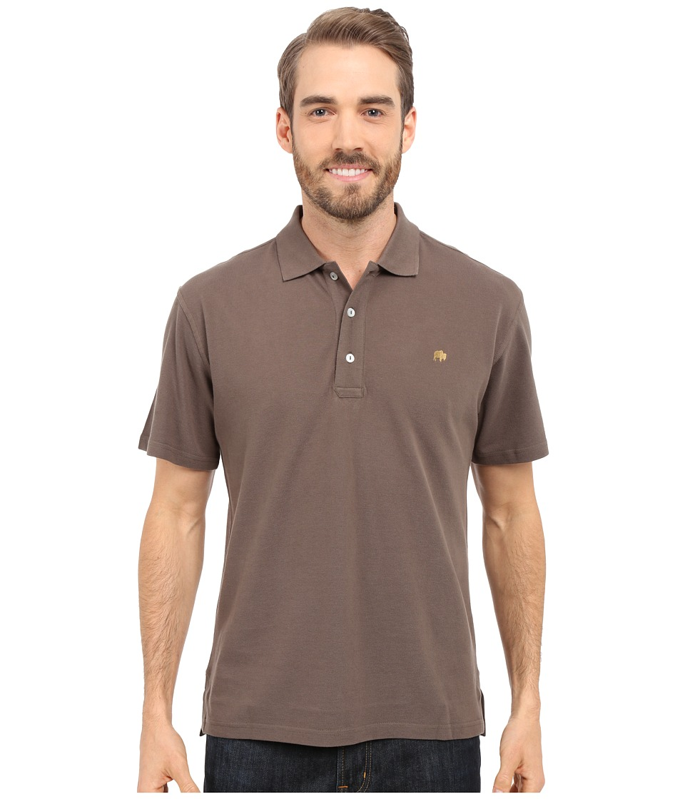 Mountain Khakis Bison Polo Shirt Terra Mens Short Sleeve Pullover