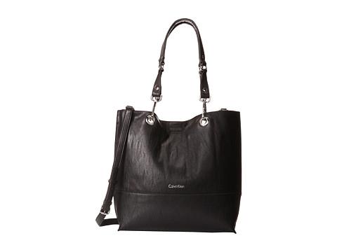 Calvin Klein Unlined Tote - Black/Grey