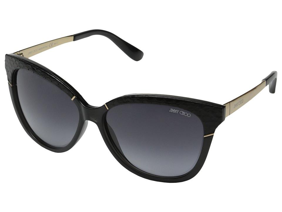 Jimmy Choo Ines/S Dark Gray/Gray Gradient Fashion Sunglasses