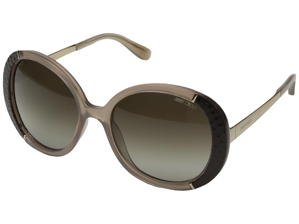 Jimmy Choo Millie/S Opal Mud/Brown Gradient Fashion Sunglasses