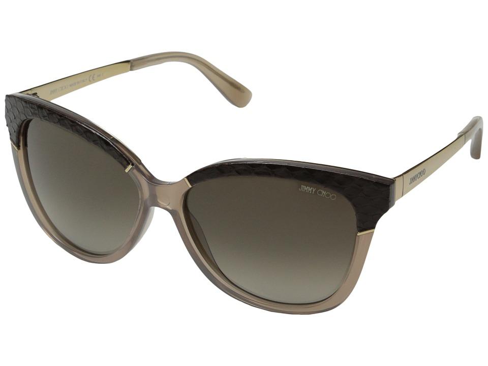 Jimmy Choo Ines/S Opal Mud/Brown Gradient Fashion Sunglasses