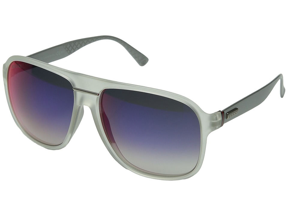Gucci GG 1076/S Crystal/ Dark Gray Infrared Fashion Sunglasses