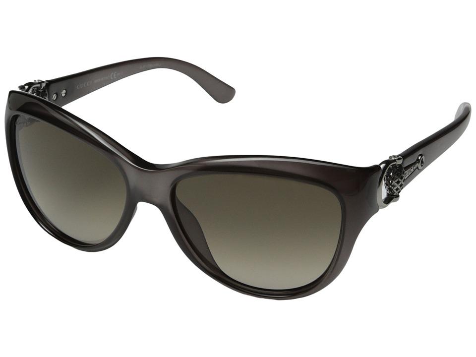 Gucci GG 3711/S Opal Gray/Brown Gradient Fashion Sunglasses