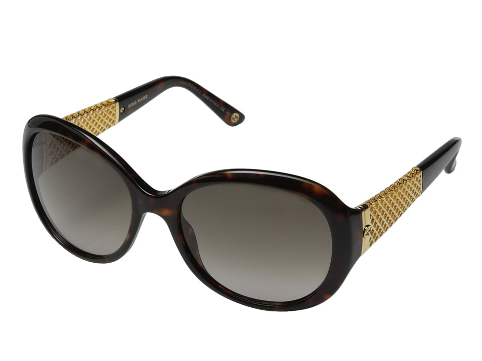 Gucci GG 3693/S Havana Gold/Brown Gradient Fashion Sunglasses