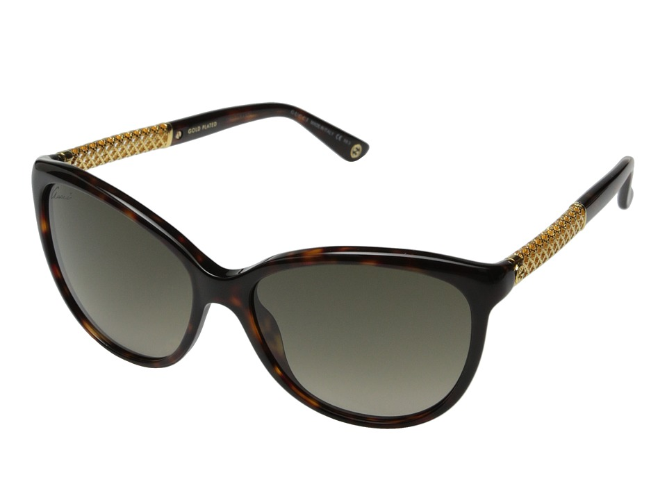 Gucci GG 3692/S Havana Gold/Brown Gradient Fashion Sunglasses