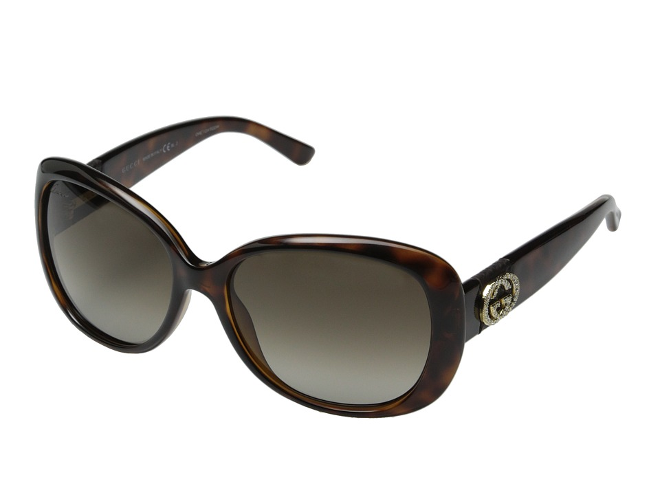 Gucci GG 3644/N/S Havana/Brown Gradient Fashion Sunglasses
