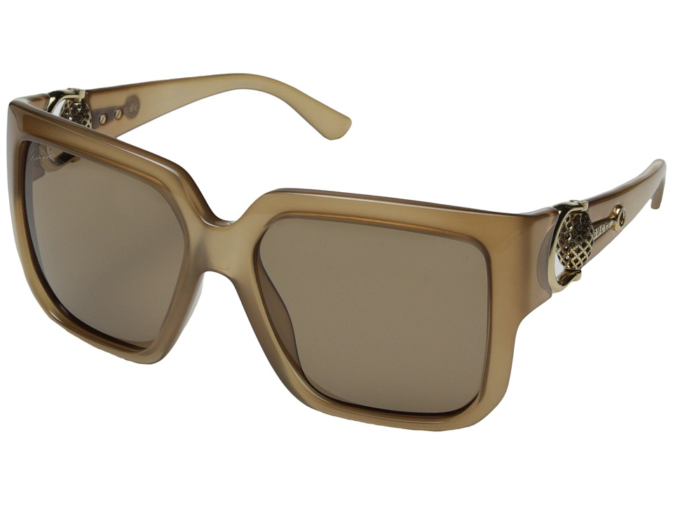 Gucci GG 3713/S Opal Beige/Brown Fashion Sunglasses