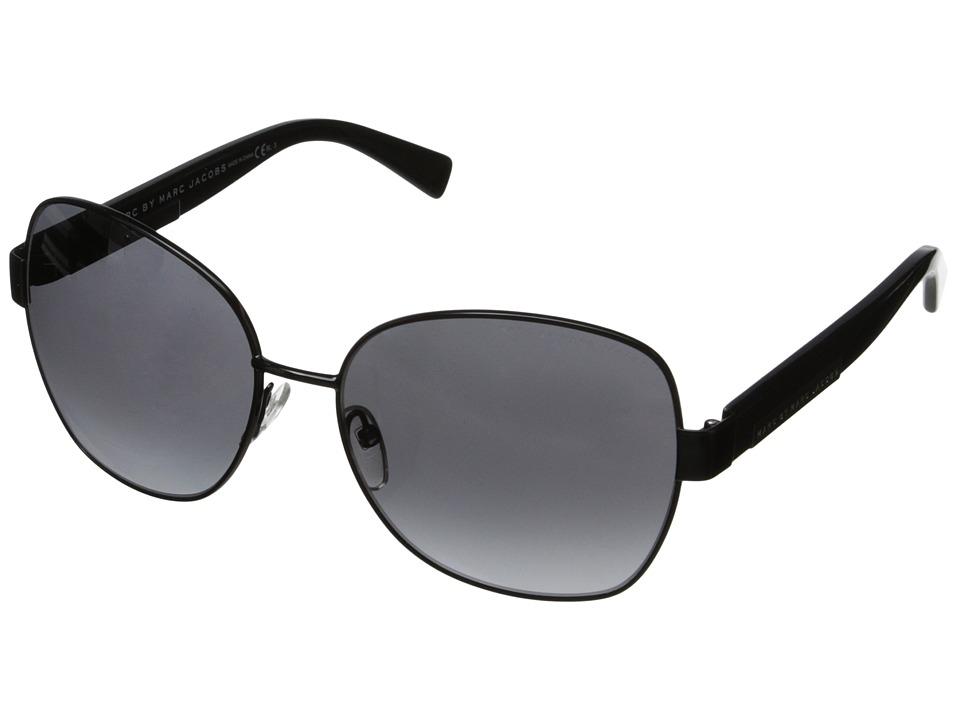 Marc by Marc Jacobs MMJ 442/S Shiny Black/Gray Gradient Fashion Sunglasses