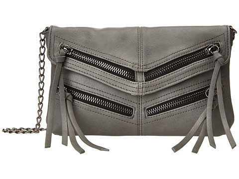 Steve Madden Jinxx Crossbody (Grey) Cross Body Handbags