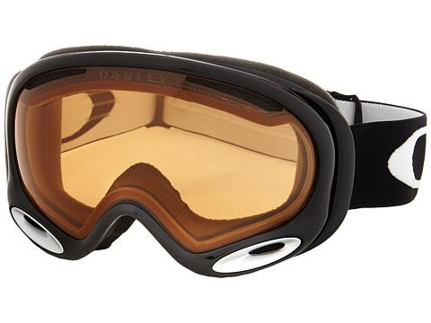 Oakley A-Frame 2.0 - Jet Black w/ Persimmon