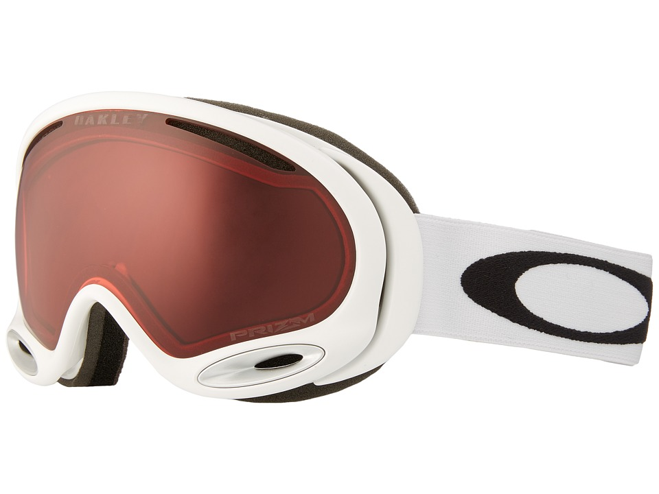 Oakley - A-Frame 2.0 (Polished White w/ B-32) Snow Goggles