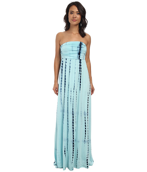 Culture Phit Hally Dress (Blue Tye Dye) Women's Dress