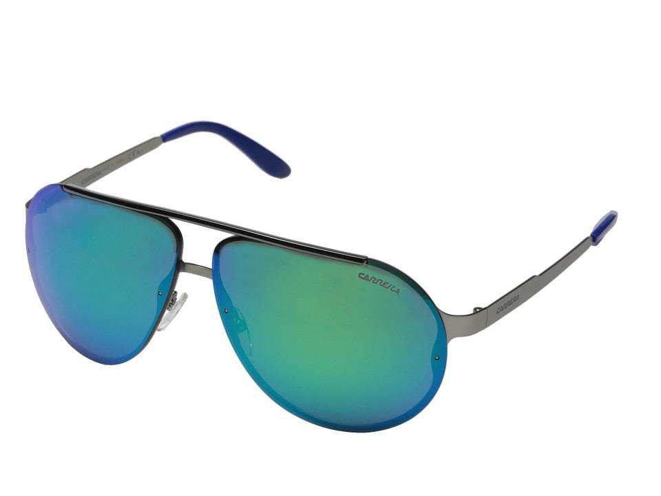 Carrera - Carrera 90/S (Matte Ruthenium/Multilayer Green) Fashion Sunglasses