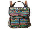 Sakroots Artist Circle Convertible Backpack (Radiant One World)