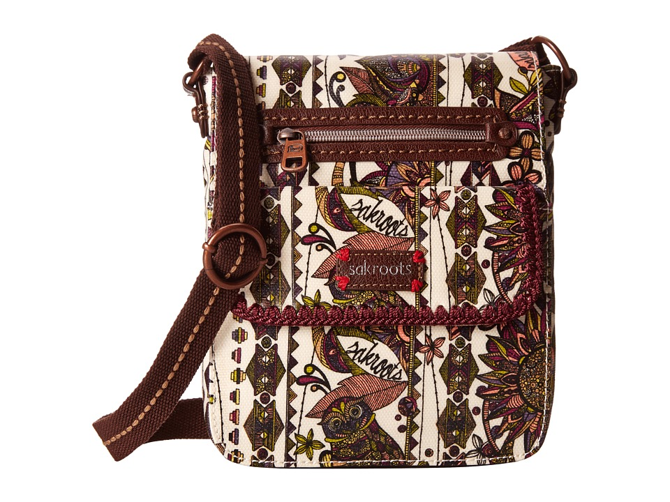Sakroots - Sakroots Small Flap Messenger (Ivory Spirit Desert) Cross Body Handbags