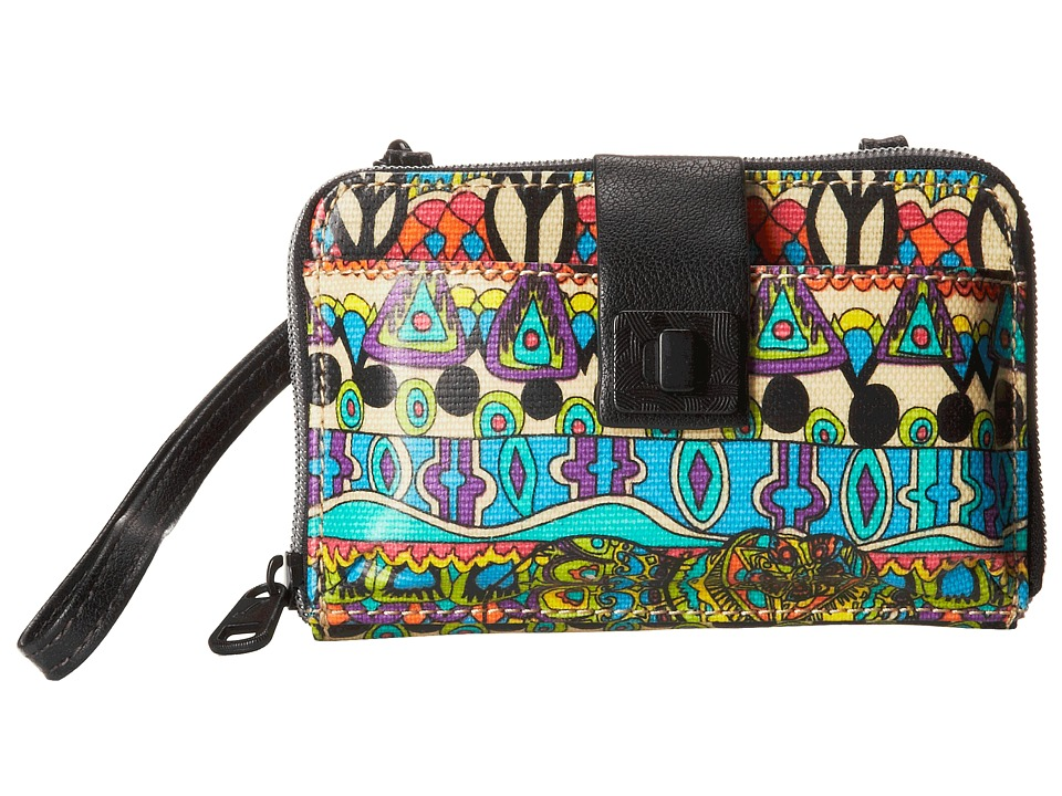 Sakroots - Artist Circle Smartphone Crossbody (Radiant One World) Cross Body Handbags