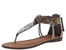 Image of Minnetonka - Antigua (Pewter Leather/Neutral Metallic Beads) Women's Sandals