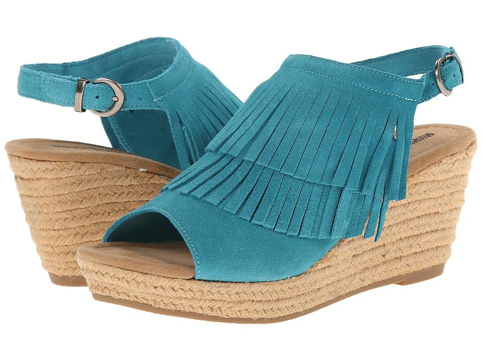 Minnetonka Ashley (Turquoise Suede) Women