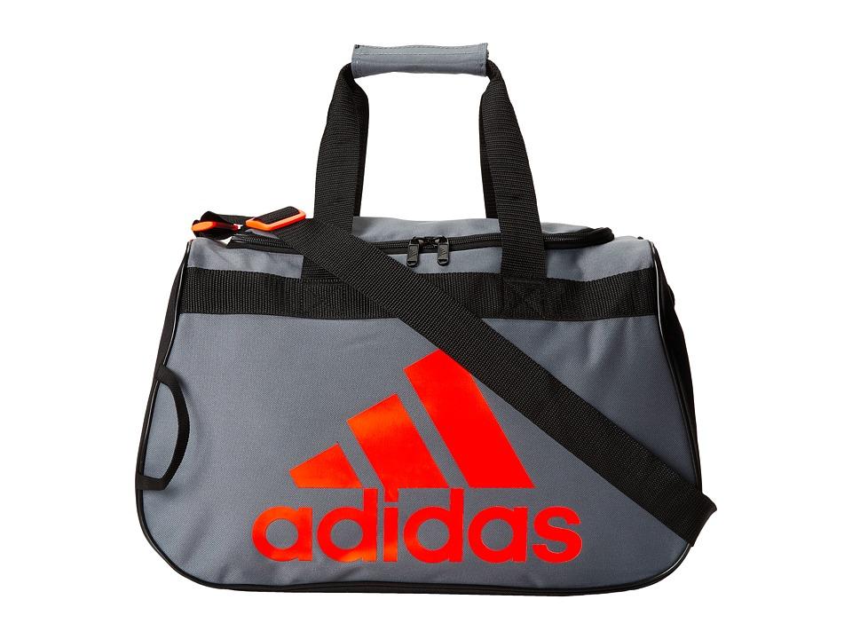 adidas - Diablo Small Duffel (Onix/Black/Solar Red) Duffel Bags