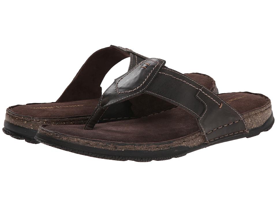 Minnetonka - Hudson (Brown Leather) Men