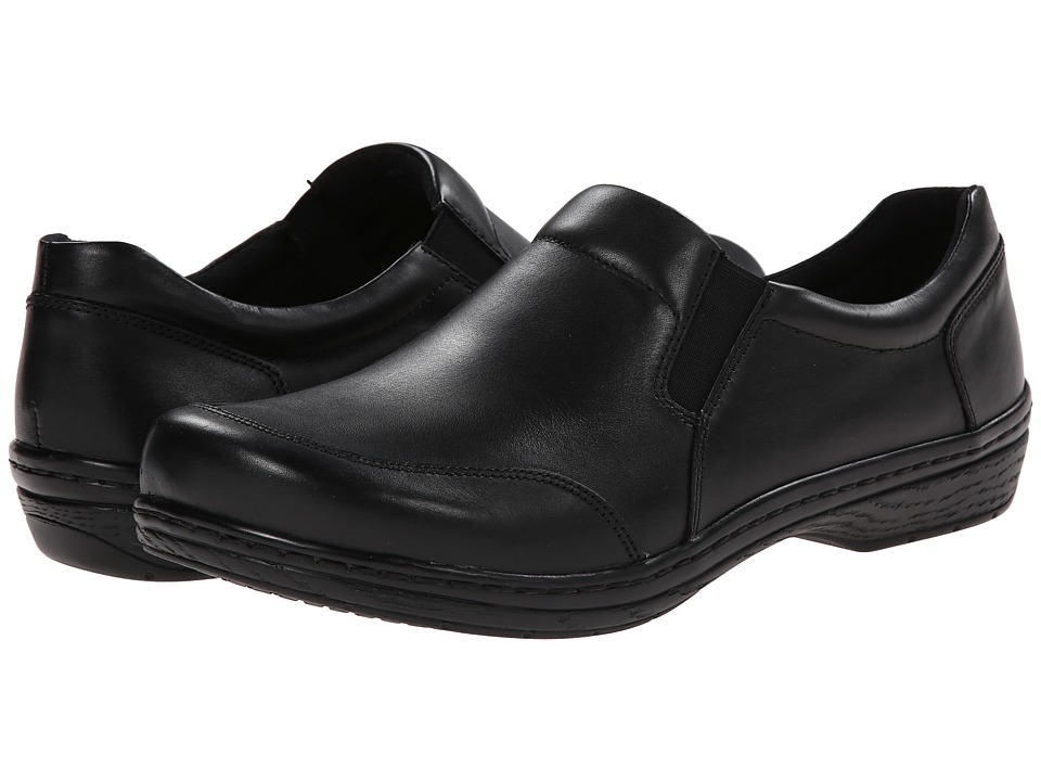 Klogs Footwear Arbor Black Smooth Mens Clog Shoes