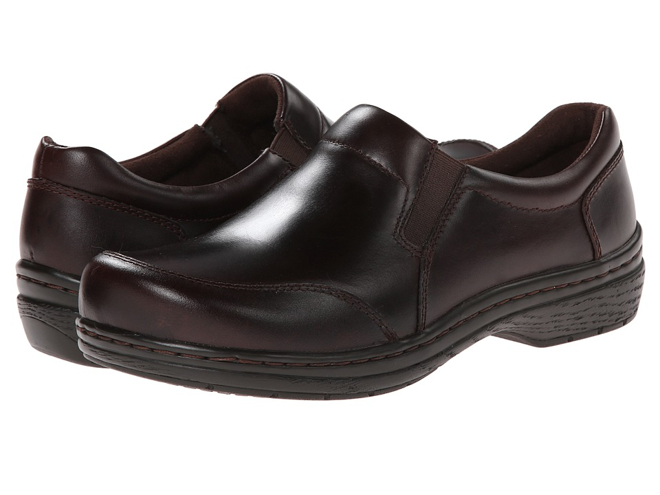 Klogs Footwear Arbor Mahogany Mens Clog Shoes