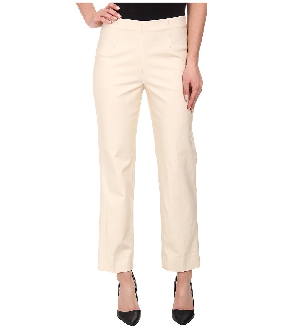 Nic+Zoe Perfect Pant Side Zip Ankle (Sandshell) Women's C...