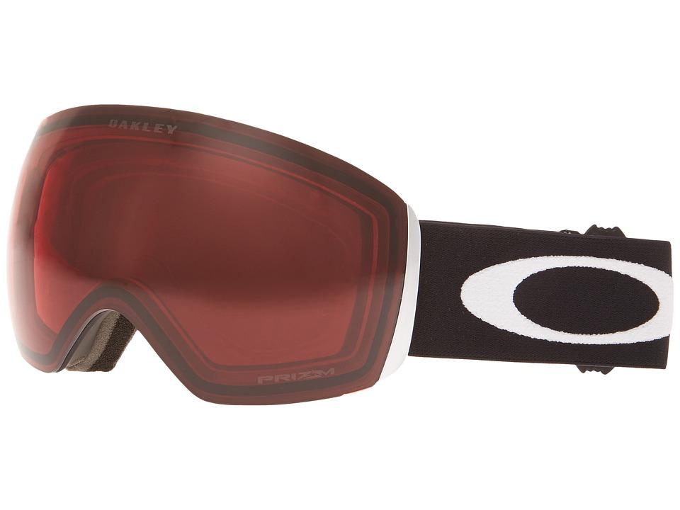 Oakley Flight Deck (Matte Black w/ Rose) Snow Goggles