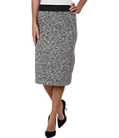 Nally & Millie - Knee Length Brushed Sweater Skirt