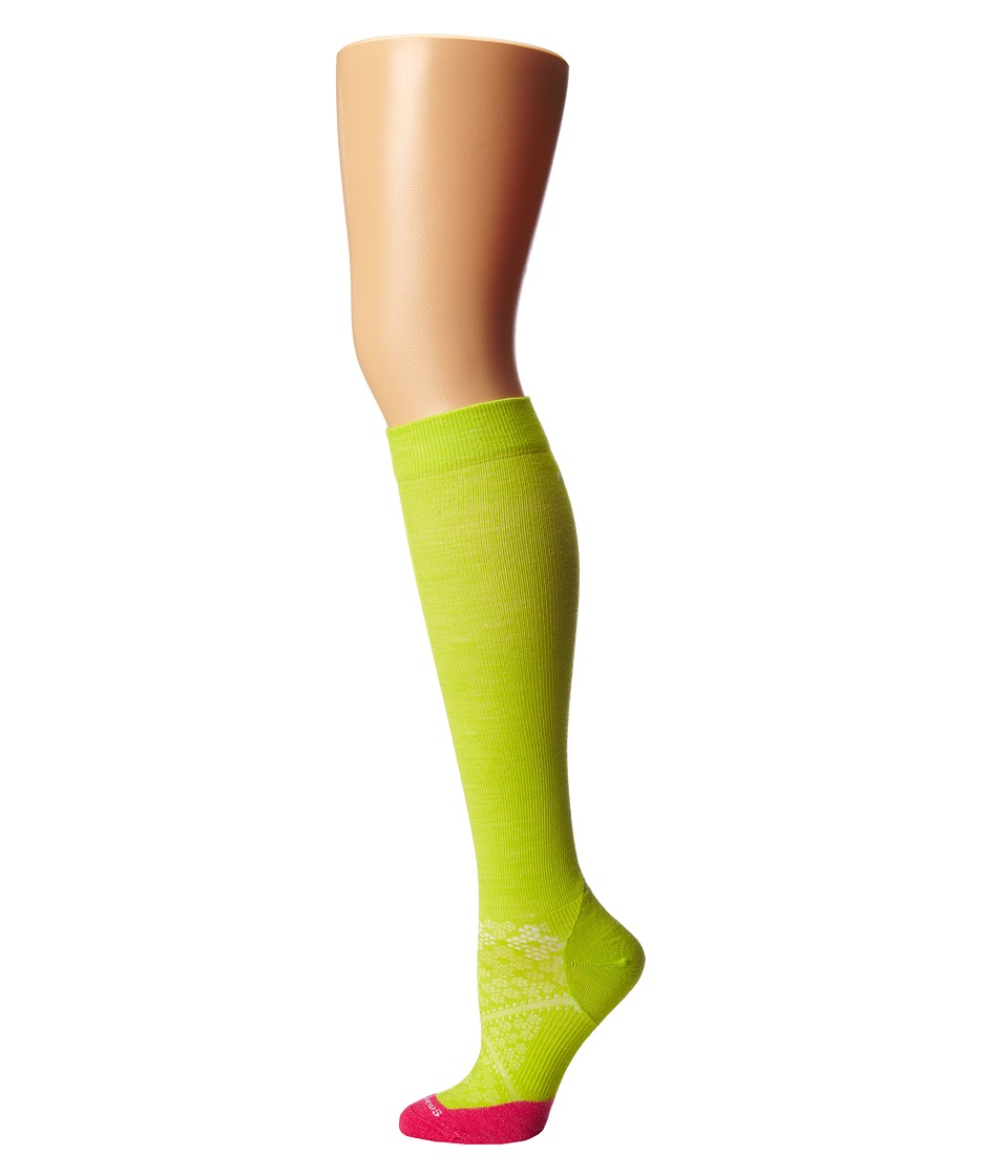 Smartwool - PhD Run Graduated Compression Ultra Light  Women's Crew Cut Socks Shoes