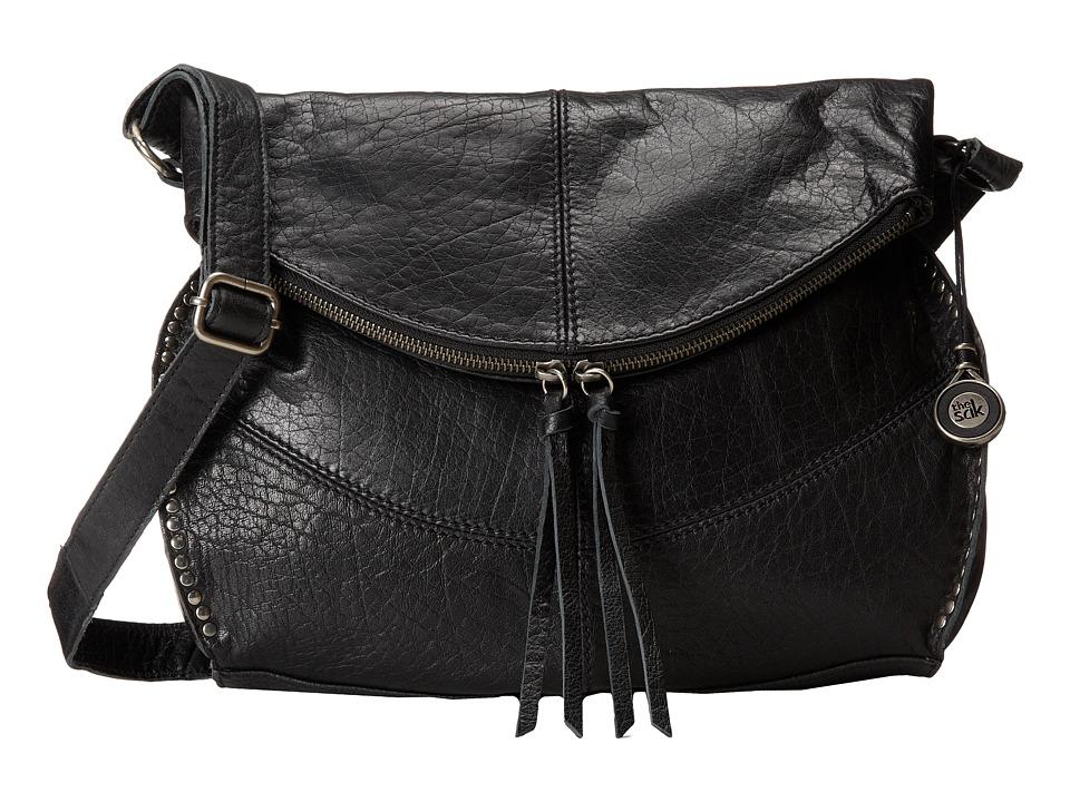 The Sak - Silverlake Messenger (Black) Cross Body Handbags