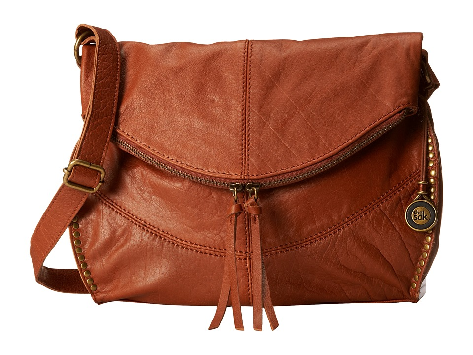 The Sak - Silverlake Messenger (Tobacco) Cross Body Handbags