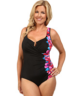 Miraclesuit - Plus Size Garland Escape Swimsuit