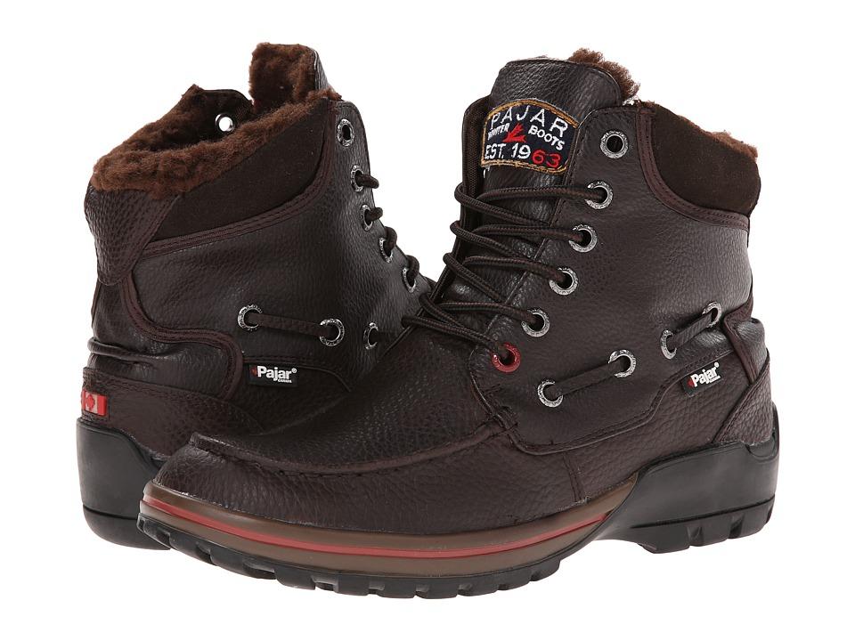 Pajar CANADA Basel Dk Brown Mens Boots